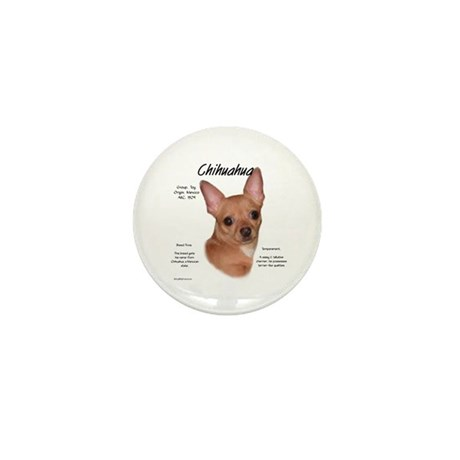 Smooth Chihuahua Mini Button