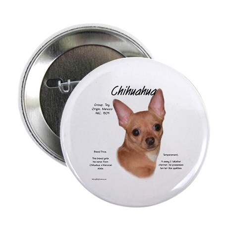 Smooth Chihuahua Button