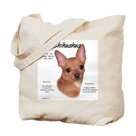 Smooth Chihuahua Tote Bag