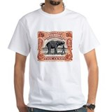 1925 North Borneo Elephant Postage Stamp Shirt