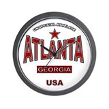 Atlanta Wall Clock