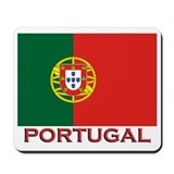 Portugal Flag Stuff Mousepad