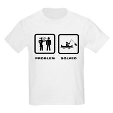Canoe Fishing T-Shirt