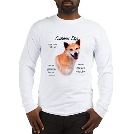Canaan Dog Long Sleeve T-Shirt