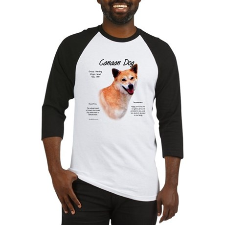 Canaan Dog Baseball Jersey