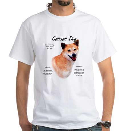 Canaan Dog White T-Shirt