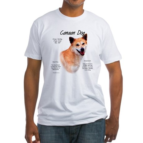 Canaan Dog Fitted T-Shirt