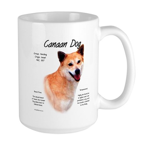Canaan Dog Large Mug