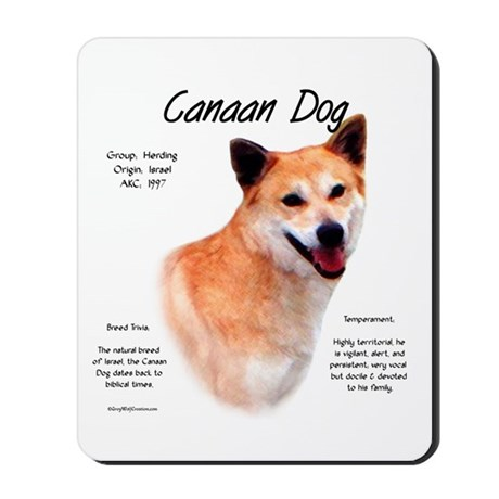Canaan Dog Mousepad