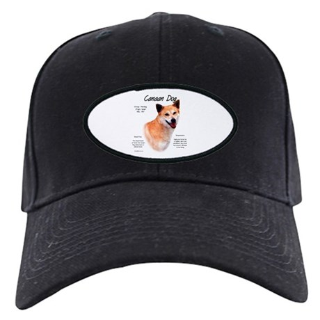Canaan Dog Black Cap