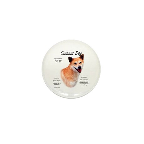 Canaan Dog Mini Button