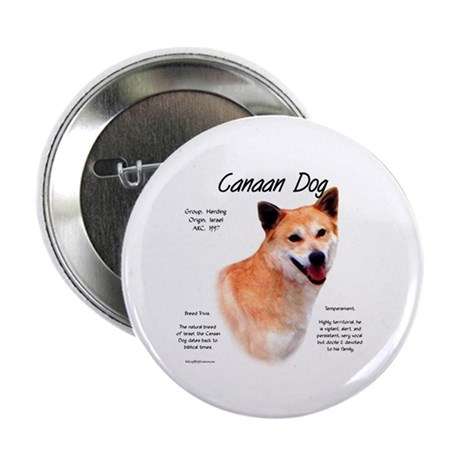 Canaan Dog Button