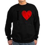 ilovemontreal.png Sweatshirt (dark)