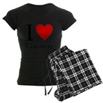 ilovevancouver.png Women's Dark Pajamas