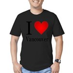 ilovevancouver.png Men's Fitted T-Shirt (dark)