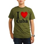 ilovecuba.png Organic Men's T-Shirt (dark)