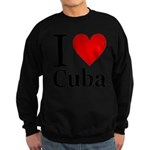 ilovecuba.png Sweatshirt (dark)