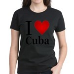 ilovecuba.png Women's Dark T-Shirt