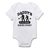 Daddy's Future Hiking Buddy  Baby Onesie