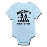 Daddy's Future Hiking Buddy Infant Bodysuit