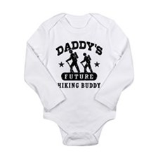 Daddy's Future Hiking Buddy Onesie Romper Suit
