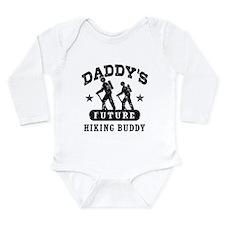 Daddy's Future Hiking Buddy Onesie Romper Suit