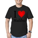 ilovemalibu.png Men's Fitted T-Shirt (dark)