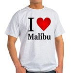 ilovemalibu.png Light T-Shirt