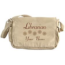 Librarian (daisy) Messenger Bag