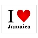 I Love Jamaica Small Poster