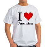 I Love Jamaica Light T-Shirt