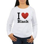 i-love-black-darkkkk-tee.png Women's Long Sleeve T