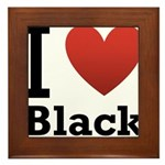 i-love-black-darkkkk-tee.png Framed Tile