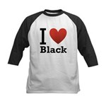 i-love-black-darkkkk-tee.png Kids Baseball Jersey