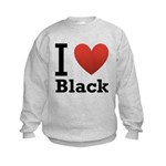 i-love-black-darkkkk-tee.png Kids Sweatshirt