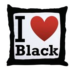 i-love-black-darkkkk-tee.png Throw Pillow