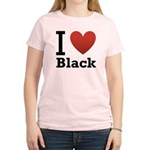i-love-black-darkkkk-tee.png Women's Light T-Shirt