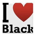 i-love-black-darkkkk-tee.png Tile Coaster