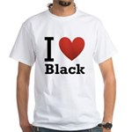 i-love-black-darkkkk-tee.png White T-Shirt
