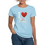 i-love-beer-pong-3-dark.png Women's Light T-Shirt