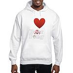 i-love-beer-pong-3-dark.png Hooded Sweatshirt