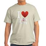 i-love-beer-pong-3-dark.png Light T-Shirt