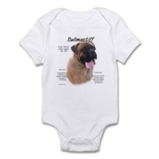 Fawn Bullmastiff Infant Bodysuit