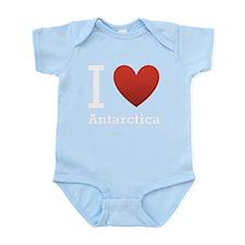 i-love-antartica-dark-tee.png Infant Bodysuit