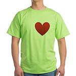 I-love-Austin.png Green T-Shirt