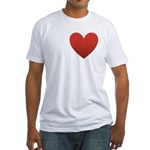 I-love-Austin.png Fitted T-Shirt