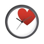 I-love-Austin.png Wall Clock