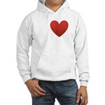 i-love-my-band.png Hooded Sweatshirt