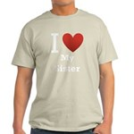 i-love-my-sister.png Light T-Shirt