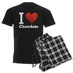 i-love-chocolate.png Men's Dark Pajamas